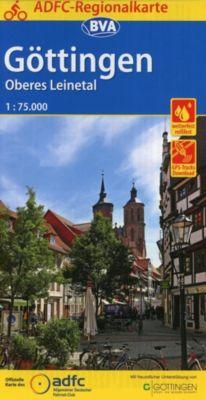 ADFC-Regionalkarte Göttingen Oberes Leinetal