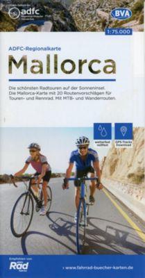 ADFC-Regionalkarte Mallorca, 1:75.000, reiß- und wetterfest, GPS-Tracks Download