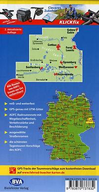 ADFC-Regionalkarte Niederlausitz Lausitzer Seen - Produktdetailbild 1