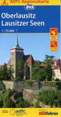 ADFC-Regionalkarte Oberlausitz - Lausitzer Seen