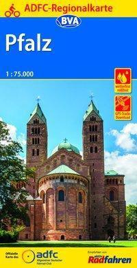 ADFC-Regionalkarte Pfalz mit Tagestouren-Vorschlägen, 1:75.000, reiß- und wetterfest, GPS-Tracks Download -  pdf epub