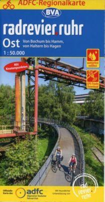 ADFC-Regionalkarte radrevier.ruhr Ost, 1:50.000, reiß- und wetterfest, GPS-Tracks Download
