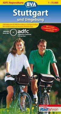 ADFC Regionalkarte Stuttgart und Umgebung