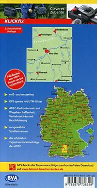 ADFC-Regionalkarte Ulm und Umgebung mit Tagestouren-Vorschlägen, 1:75.000, reiß- und wetterfest, GPS-Tracks Download - Produktdetailbild 1
