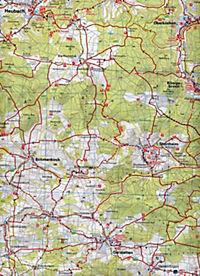 ADFC-Regionalkarte Ulm und Umgebung mit Tagestouren-Vorschlägen, 1:75.000, reiß- und wetterfest, GPS-Tracks Download - Produktdetailbild 2