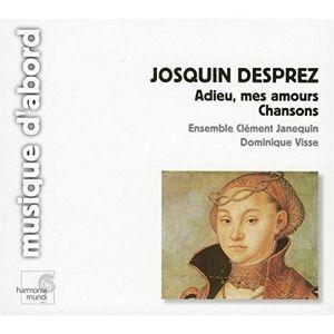 Adieu,mes Amours.chansons, Ensemble Clement Janequin
