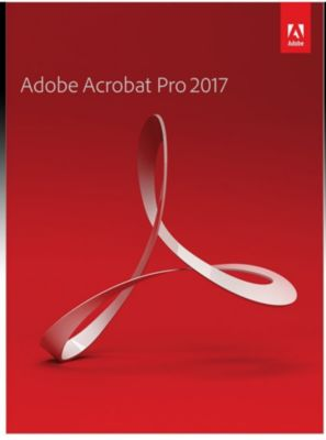 Adobe Acrobat Professional 2017 DE (Win)