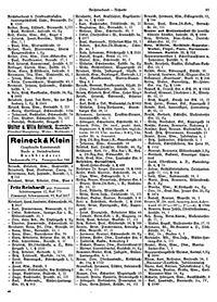 Adressbuch Einwohnerbuch Stadt und Land WEIMAR 1937 in THÜRINGEN - Produktdetailbild 3