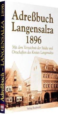 Adressbuch von Langensalza 1896
