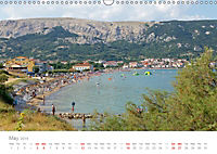 Adriatic Coast Croatia / UK-Version (Wall Calendar 2019 DIN A3 Landscape) - Produktdetailbild 5