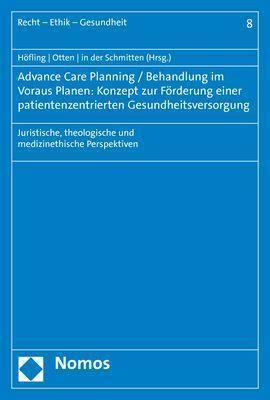 Advance Care Planning / Behandlung im Voraus Planen: Konzept zur Förderung einer patientenzentrierten Gesundheitsversorg