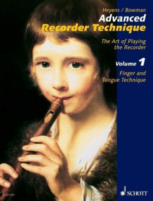 Advanced Recorder Technique: Vol.1 Finger and Tongue Technique, für Altblockflöte, Gudrun Heyens