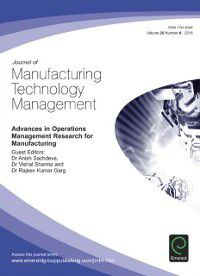 Advances in Operations Management Research for Manufacturing
