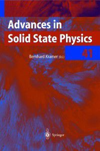 Advances in Solid State Physics: Advances in Solid State Physics