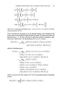 Advances in Statistical Control, Algebraic Systems Theory, and Dynamic Systems Characteristics - Produktdetailbild 5