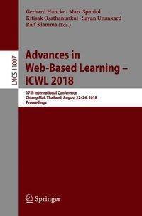 Advances in Web-Based Learning - ICWL 2018