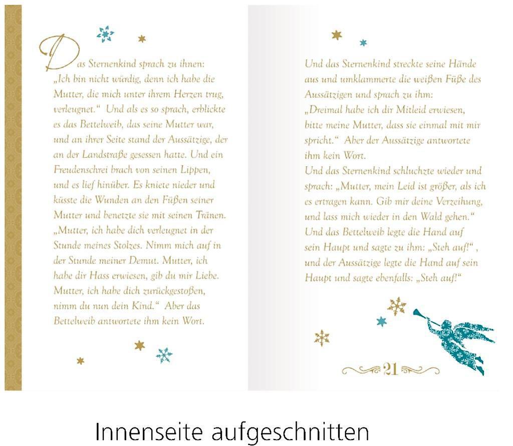 Advent mit Oscar Wilde, Briefbuch zum Aufschneiden | Weltbild.ch