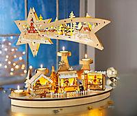 """Advents-Teelichthalter """"Weihnachtsmarkt"""" - Produktdetailbild 2"""