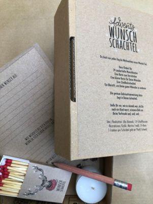 Advents Wunsch Schachtel Rentier, Ulla Wanda Bisewski