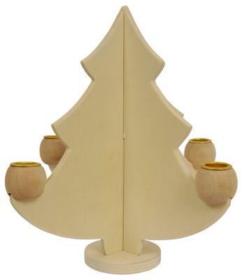 Adventsbaum Kerzenhalter