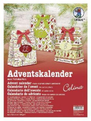 Adventskalender Celina, Geschenkboxen, URSUS®