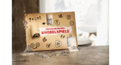 Adventskalender Knobelspiele