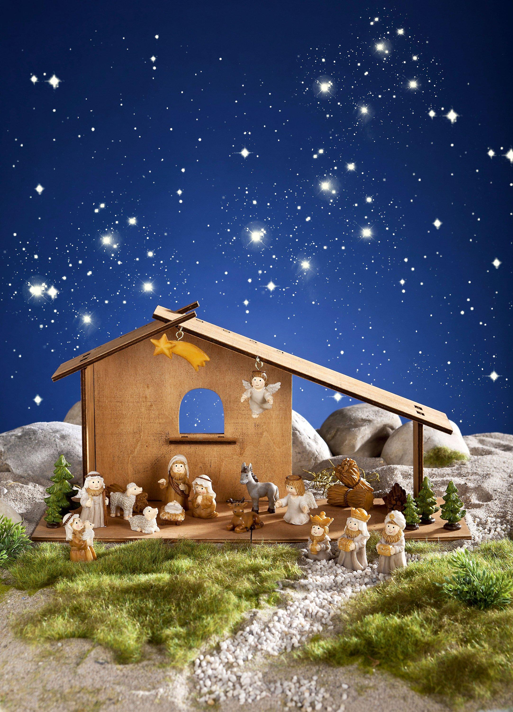 Kinder Weihnachtskrippe.Adventskalender Weihnachtskrippe Kalender Bei Weltbild De