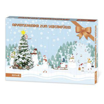 adventskalender zum bef llen kinder bestellen. Black Bedroom Furniture Sets. Home Design Ideas