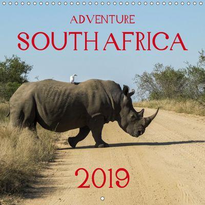 Adventure South Africa 2019 (Wall Calendar 2019 300 × 300 mm Square), Carsten Krüger