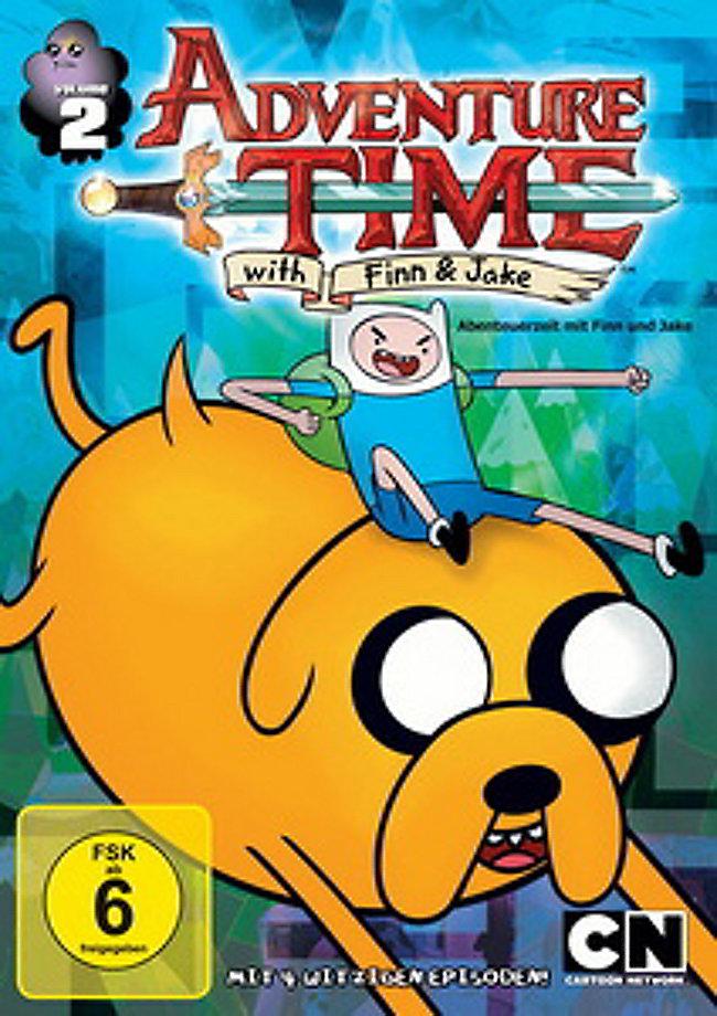 Adventure Time: Abenteuerzeit mit Finn & Jake Staffel 1 Vol. 2 Film ...