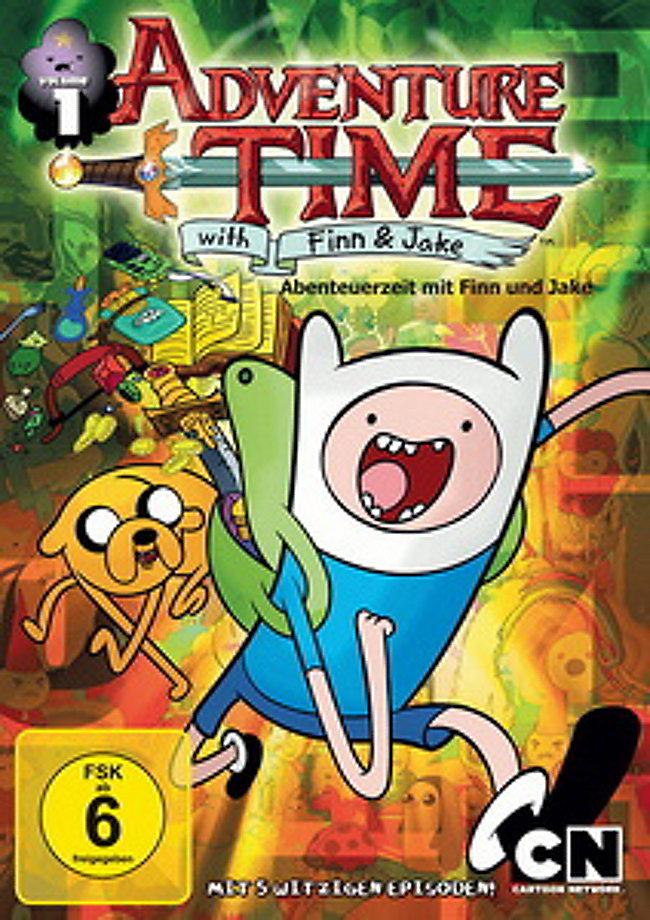 Adventure Time: Abenteuerzeit mit Finn & Jake Staffel 1 Vol. 1 Film ...