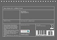 Aero Action Art - Luftfahrt Kunst (Tischkalender 2019 DIN A5 quer) - Produktdetailbild 13