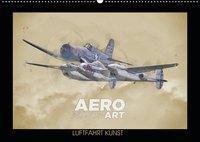 Aero Action Art - Luftfahrt Kunst (Wandkalender 2019 DIN A2 quer), Nick Delhanidis