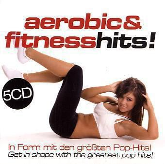 Aerobic und Fitness Hits, 5 Audio-CDs, Diverse Interpreten
