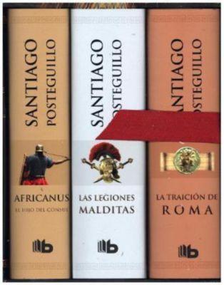 Africanus / Las legiones malditas / La traición de Roma, 3 Bde., Santiago Posteguillo