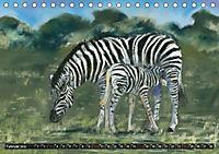 Afrika in Pastellgemälden (Tischkalender 2019 DIN A5 quer) - Produktdetailbild 2