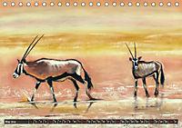 Afrika in Pastellgemälden (Tischkalender 2019 DIN A5 quer) - Produktdetailbild 5