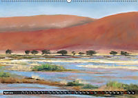 Afrika in Pastellgemälden (Wandkalender 2019 DIN A2 quer) - Produktdetailbild 4