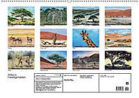 Afrika in Pastellgemälden (Wandkalender 2019 DIN A2 quer) - Produktdetailbild 13