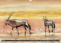 Afrika in Pastellgemälden (Wandkalender 2019 DIN A3 quer) - Produktdetailbild 5