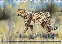 Afrika in Pastellgemälden (Wandkalender 2019 DIN A3 quer) - Produktdetailbild 9