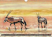 Afrika in Pastellgemälden (Wandkalender 2019 DIN A4 quer) - Produktdetailbild 5