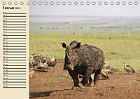 Afrika. Tiere in freier Wildbahn (Tischkalender 2019 DIN A5 quer) - Produktdetailbild 2