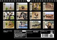 Afrika. Tiere in freier Wildbahn (Wandkalender 2019 DIN A4 quer) - Produktdetailbild 13
