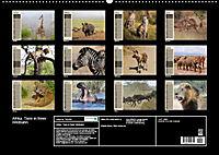 Afrika. Tiere in freier Wildbahn (Wandkalender 2019 DIN A2 quer) - Produktdetailbild 13