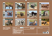 Afrikas Dickhäuter. Hippos, Nashörner und Elefanten (Wandkalender 2019 DIN A2 quer) - Produktdetailbild 13