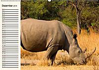 Afrikas Dickhäuter. Hippos, Nashörner und Elefanten (Wandkalender 2019 DIN A2 quer) - Produktdetailbild 12