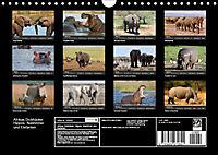 Afrikas Dickhäuter. Hippos, Nashörner und Elefanten (Wandkalender 2019 DIN A4 quer) - Produktdetailbild 13