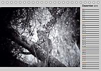Afrikas Tierwelt in schwarz & weiß (Tischkalender 2019 DIN A5 quer) - Produktdetailbild 12