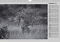 Afrikas Tierwelt in schwarz & weiss (Wandkalender 2019 DIN A4 quer) - Produktdetailbild 2
